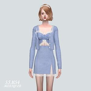 9A Lace 3 Piece sims 4 cc