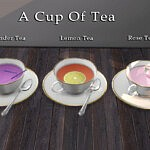 A cup of tea sims 4 cc