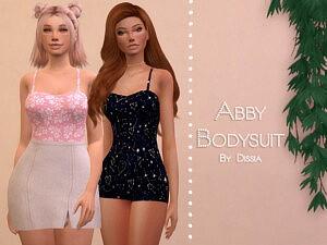Abby Bodysuit sims 4 cc