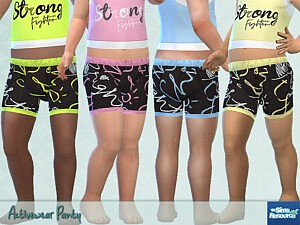 Activewear Panty sims 4 cc