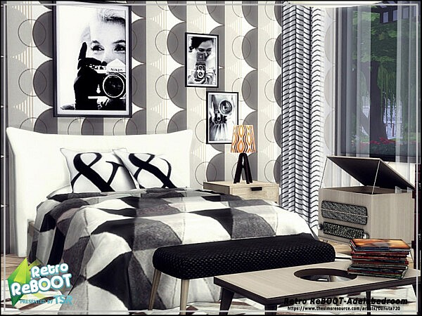 Adela bedroom sims 4 cc