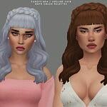 Adeline Hair sims 4 cc