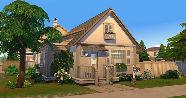 Affordable Daydreaming House sims 4 cc