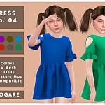 Akogare Dress No.04 sims 4 cc