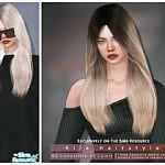 Alia Hairstyle sims 4 cc