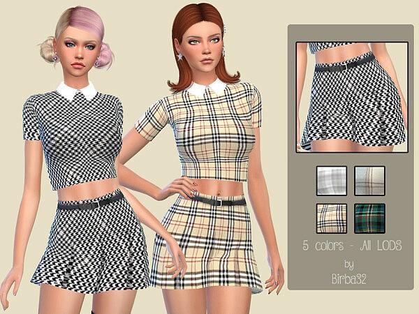 Alissa skirt sims 4 cc