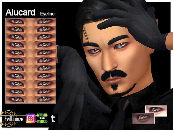 Alucard Eyeliner sims 4 cc