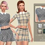 Alyssa Shirt sims 4 cc