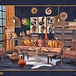 Amari Livingroom sims 4 cc