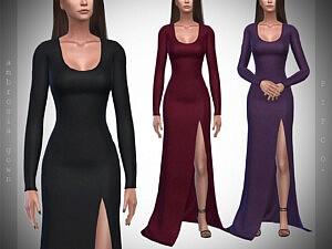 Ambrosia Gown sims 4 cc