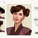 Amidala Hair sims 4 cc