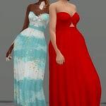 Anne Marie Dress sims 4 cc