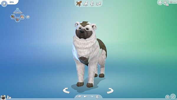 Appa from AvatarThe Last Airbender sims 4 cc