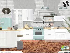 April Kitchen sims 4 cc