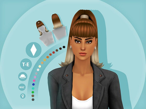 Ari Hairstyle by simcelebrity00 from TSR