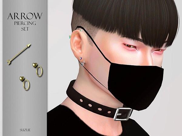 Arrow Piercings Set