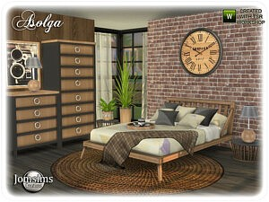 Asolga bedroom sims 4 cc
