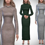 Aurora Sweater Dress sims 4 cc