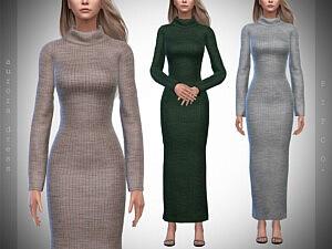 Aurora Sweater Dress sims 4 cc