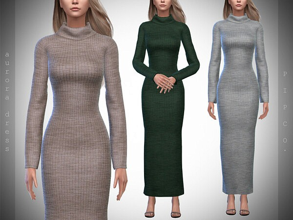 Aurora Sweater Dress by Pipco from TSR