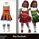 Baby Cheerleader sims4 cc