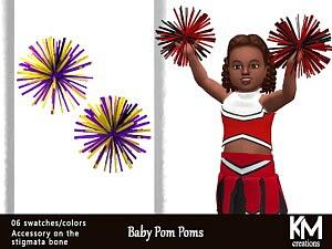 Baby Pom Poms sims 4 cc