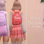 Backpack Female sims 4 cc
