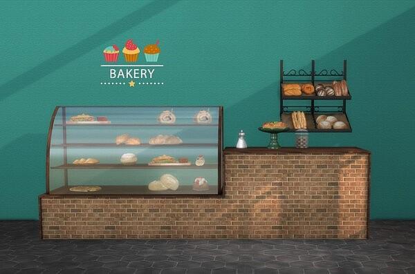Bakery sims 4 cc