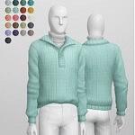Basic Sweater VI 4 M sims 4 cc