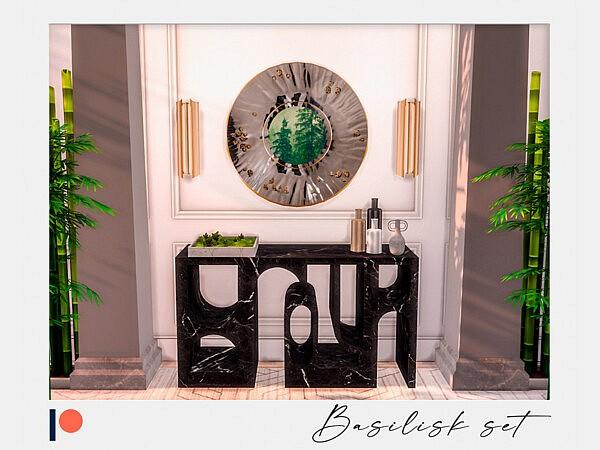 Basilisk set sims 4 cc