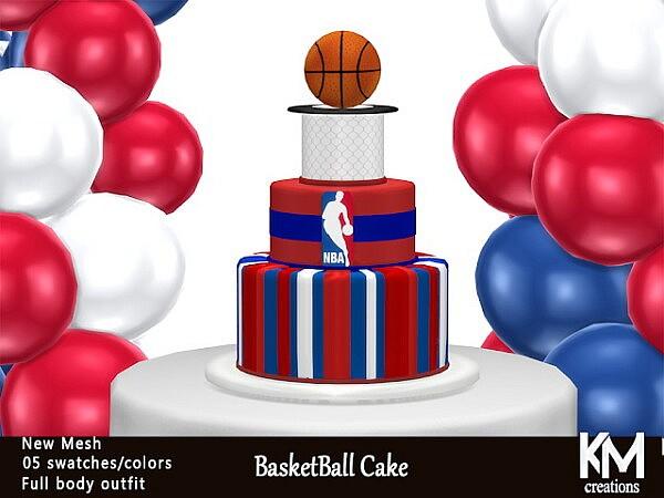 Basketball Cake sims 4 cc