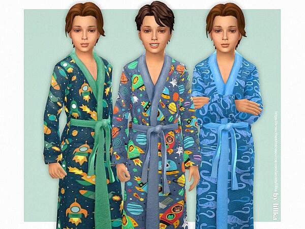 Bathrobe for Boys sims 4 cc
