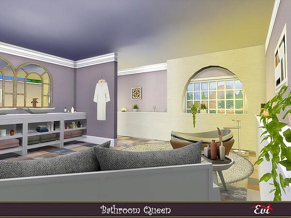 Bathroom Queen sims 4 cc