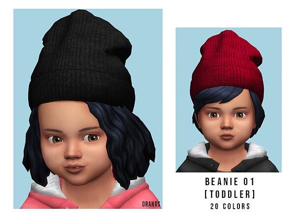 Beanie 01 Toddler sims 4 cc