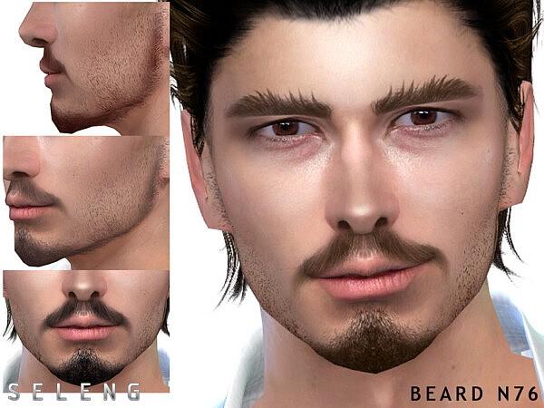 Beard N76 sims 4 cc