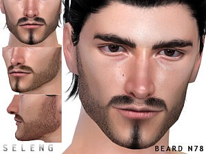 Beard N78 sims 4 cc