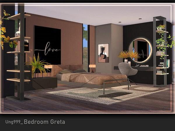 Bedroom Greta sims 4 cc