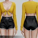 Belaloallure Panam shorts sims 4 cc