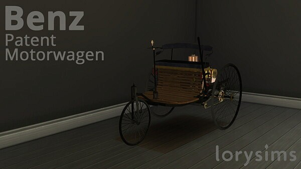 Benz Patent Motorwagen from Lory Sims
