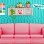Billy wallshelf sims 4 cc