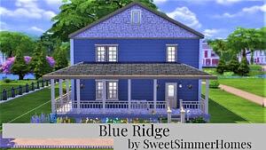 Blue Ridge House sims 4 cc
