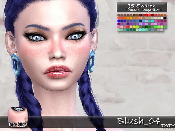 Blush 04 sims 4 cc