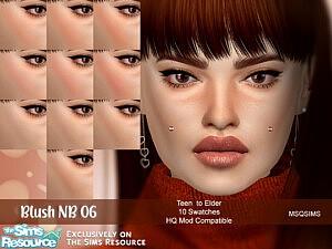 Blush NB06 sims 4 cc