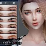 Bobur Eyebrows 34 sims 4 cc