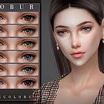 Bobur Eyecolors 50 sims 4 cc