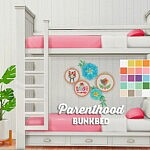 Brohill Parenthood bunkbed sims 4 cc