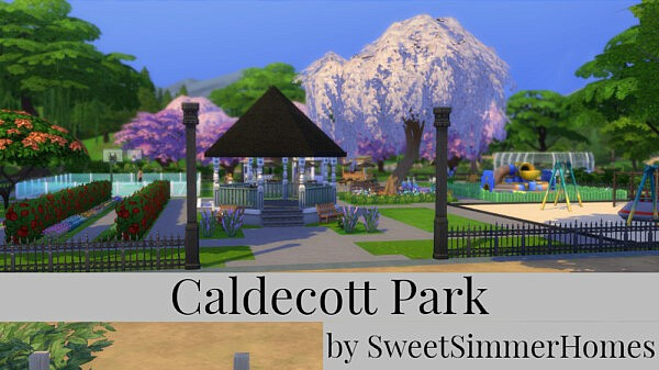 Caldecott Park sims 4 cc