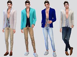 Calderone Suit Jacket sims 4 cc