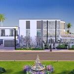 California Jewelbox Mansion sims 4 cc