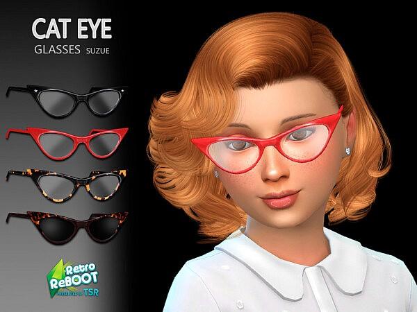 CatEye Child Glasses sims 4 cc
